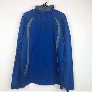 Adidas Full Zip Track Jacket Large